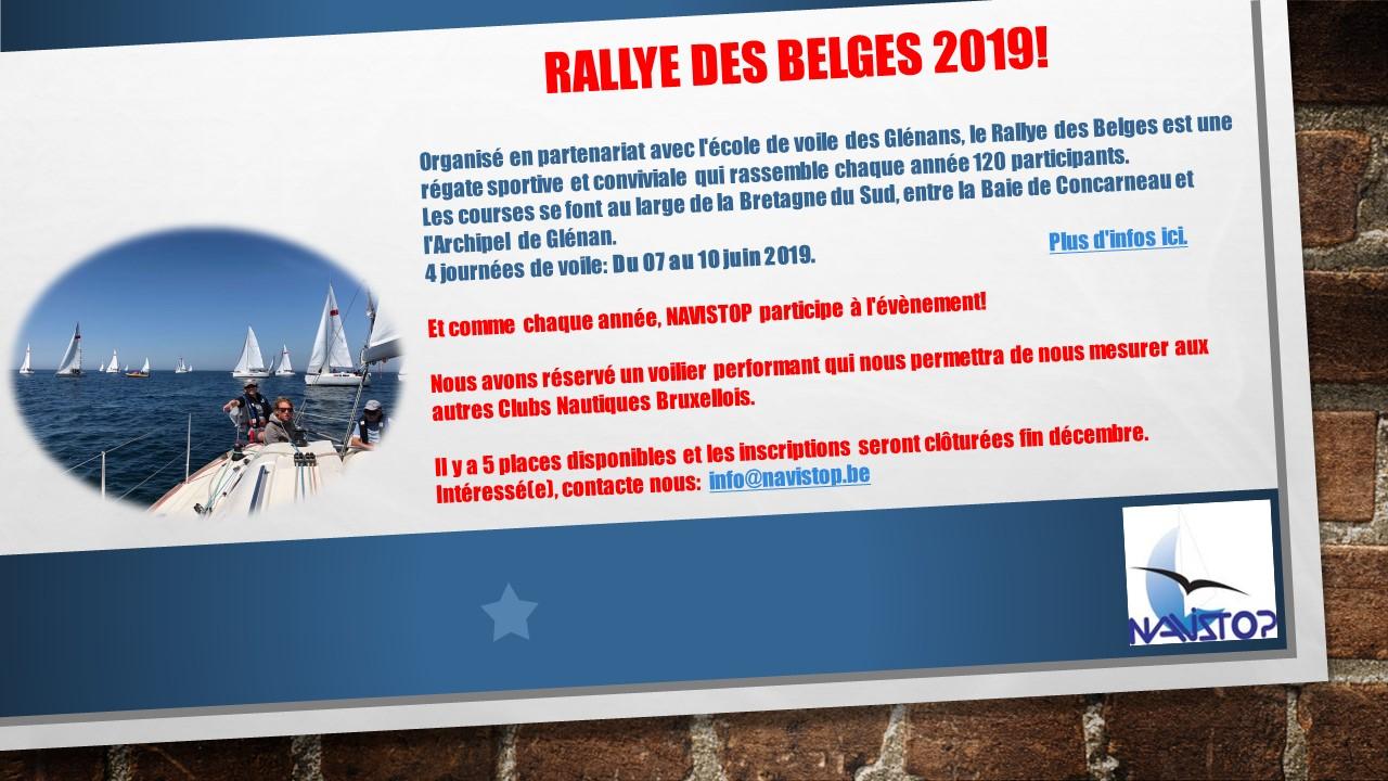 Rallye des Belges 2019