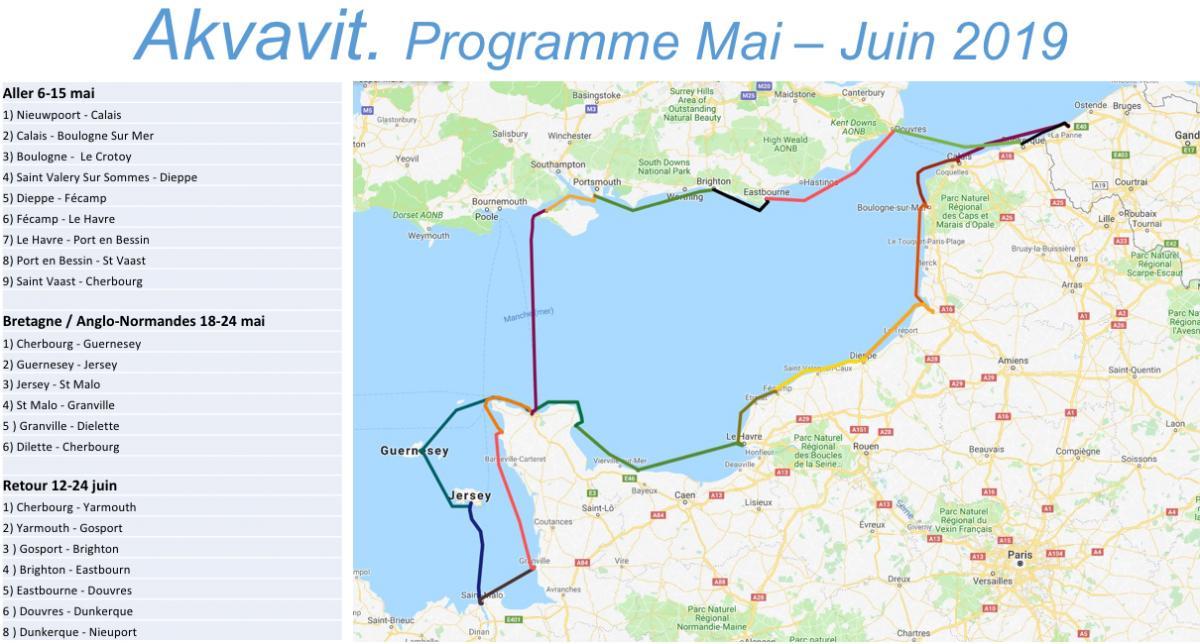 Programme akvavit 2019